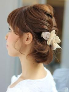 入園式 入学式 スーツ ママ 服装 ヘアスタイル 髪型