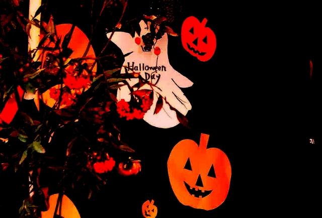 すべての折り紙 ハロウィン 飾り 折り紙 : ハロウィンを折り紙で!作り方 ...