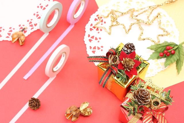 手作りのクリスマスカード!マスキングテープで可愛く!