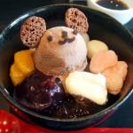 和スイーツ 和菓子 違い カロリー ダイエット 味 材料 抹茶 クリーム クマあんみつ クリーム フルーツ アイスクリーム